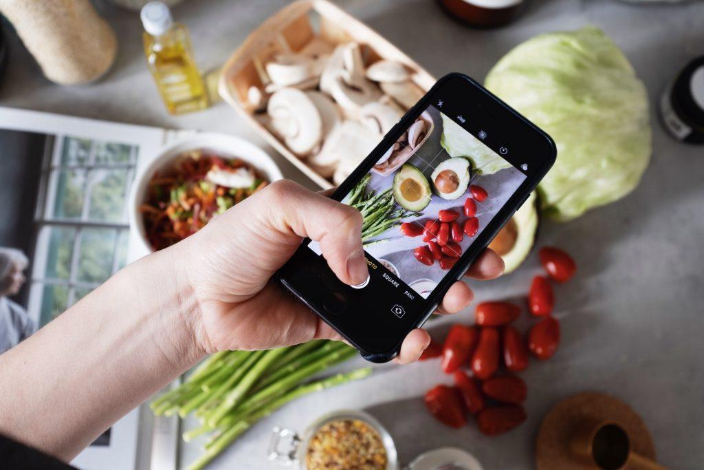 Handy-Mahlzeit - zu gut zu gehen