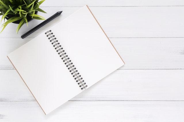 Herbruikbaar notitieboekje